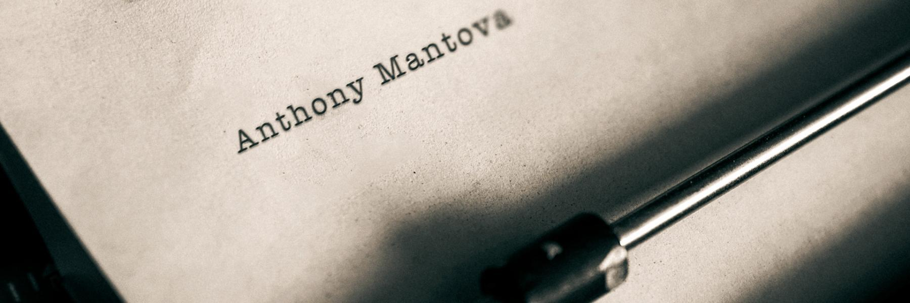 Anthony Mantova writes on issues that matter to people living in Eureka, CA