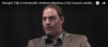 Anthony Mantova talks with Access Humboldt Member Scot Malcomb